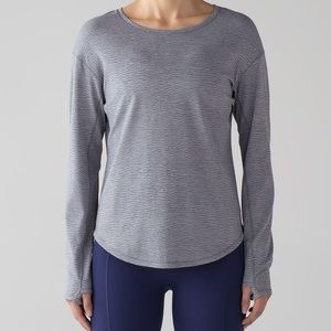Lululemon Lost In Pace long sleeve top size 6